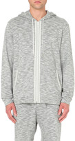 HUGO BOSS Marl-effect cotton hoody