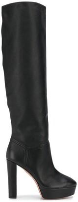 Aquazzura Platform Sole Boots