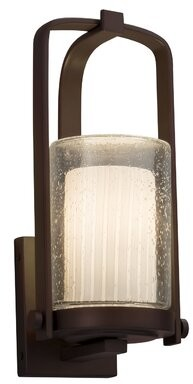 Longshore Tides Getchell Outdoor Armed Sconce Finish Dark Bronze Shopstyle