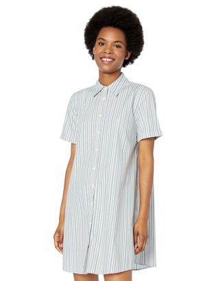 BB Dakota Junior's Personality Stripe Shirt Dress