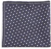 Brunello Cucinelli Polka dot-print silk-blend pocket square
