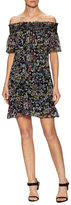 Rebecca Minkoff Gerry Floral Print Flared Dress