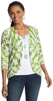 Chico's Tianna Ikat Burnout Cardigan