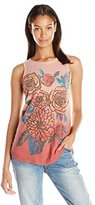 Lucky Brand Women's Washed Bouquet Tank Top