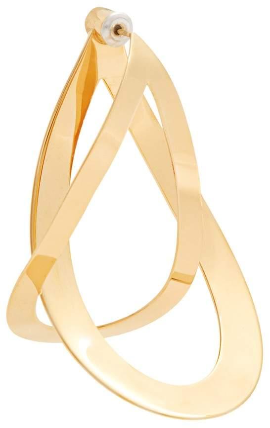 Charlotte Chesnais Endless gold-plated single earring