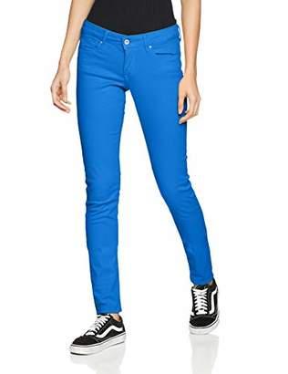 Pepe Jeans Women's Soho Trouser, Blue (e 554), W30/L32