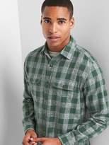 Gap Plaid twill standard fit shirt