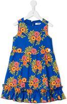 MSGM floral print dress - kids - Cotton/Spandex/Elastane - 4 yrs