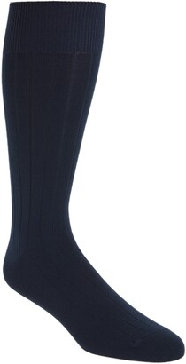 Nordstrom Ultra Soft Solid Ribbed Socks