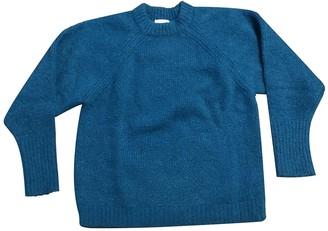 Sandro Fall Winter 2019 Turquoise Wool Knitwear