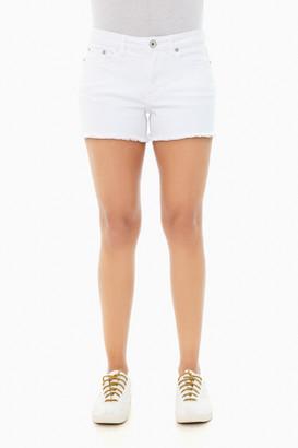 Vineyard Vines White Denim Cutoff Shorts