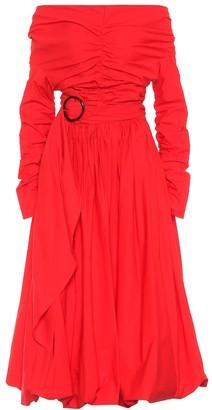 Isa Arfen Cotton poplin dress