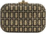 Judith Leiber Couture Madu Slide-Lock Minaudiere Clutch Bag