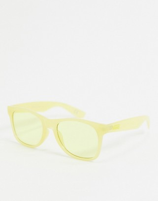 Vans Spicoli Flat sunglasses in yellow