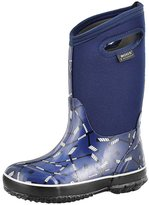 Bogs Boys' Classic Hockey Tall Waterproof Boot 3 M US