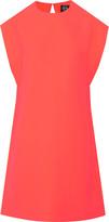 McQ by Alexander McQueen Neon crepe dress