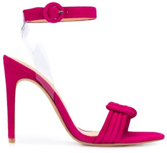 Alexandre Birman Tie Detail Heeled Sandals