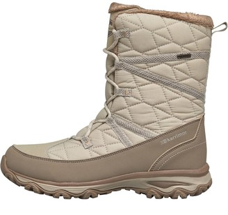 Karrimor Womens Polar Quilted Weathertite Snow Boots Ivory