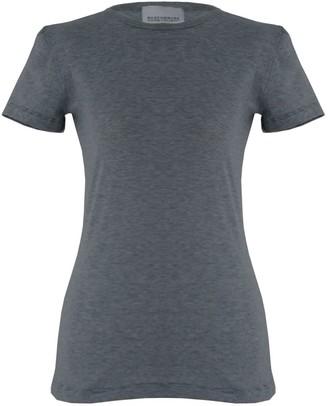 Rozenbroek Organic Cotton T-Shirt In Fine Blue Stripe