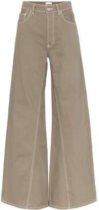 Ganni Shiloh wide-leg jeans