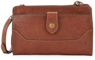 Frye Lucy Leather Crossbody Bag