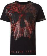 Philipp Plein Abstract Skull T-shirt