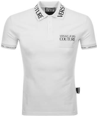 Versace Polo T Shirt White