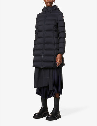 Moncler Gie funnel-neck shell-down coat