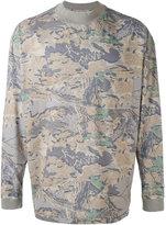 Yeezy leaf print sweater - unisex - Cotton - L