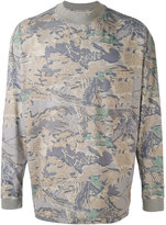 Yeezy leaf print sweater - unisex - Cotton - M