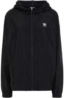 adidas Textured-shell Hooded Jacket