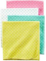Carter's 4-Pk. Dot-Print Blankets, Baby Girls (0-24 months)