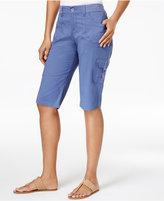 Lee Platinum Petite Cargo Shorts