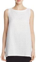 Eileen Fisher Dot Print Long Tank