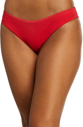Onia Lily Ribbed Hipster Swim Bottom