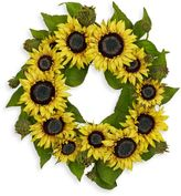 Bed Bath & Beyond Nearly Natural 22-Inch Sunflower Wreath