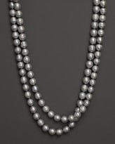 """Bloomingdale's Cultured Grey Freshwater Pearl Long Necklace, 54"""" - 100% Exclusive"""