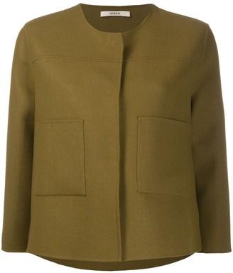Odeeh Collarless Short Jacket