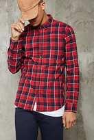 Forever 21 FOREVER 21+ Slim Fit Plaid Shirt