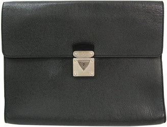 Louis Vuitton Anthracite Leather Bags