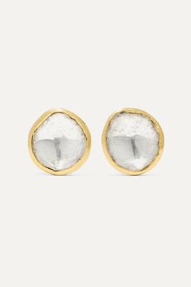 Pippa Small 18-karat Gold Diamond Earrings - one size