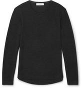 Orlebar Brown Ob-t Slim-fit Wool-blend T-shirt - Anthracite