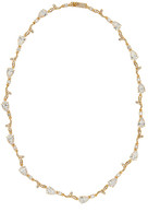 Nadri Ornate Accent CZ Collar Necklace