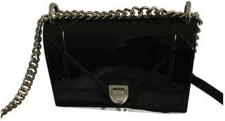 Christian Dior Diorama Black Patent leather Handbags