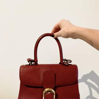 Delvaux Le Brillant Red Leather Handbags