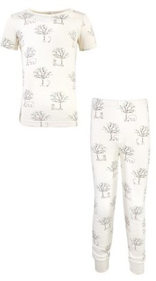 Touched by Nature Kids Cotton Tight-Fit Pajama Set Size 6