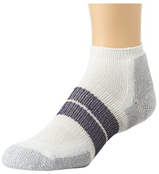Thorlos 84N No Show Single Pair (White) Men's No Show Socks Shoes