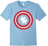 Captain Autism T-Shirt - Autism Awareness Superhero Shirts