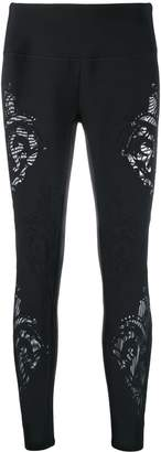 Pinko stencil cut leggings