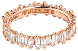 Suzanne Kalan Rose Gold and Diamond Fireworks Eternity Ring